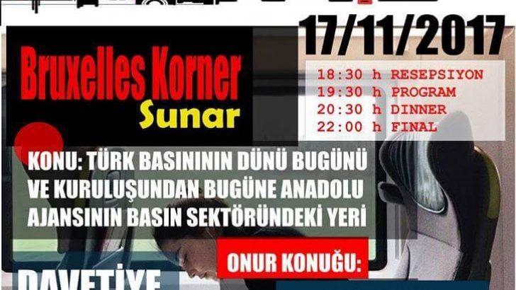 Brüksel'de Türk basınının dünü ve bugünü ele alınacak