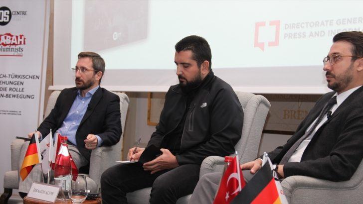 """""""Alman-Türk ilişkileri ve FETÖ'nün Rolü"""" Sempozyumu"""