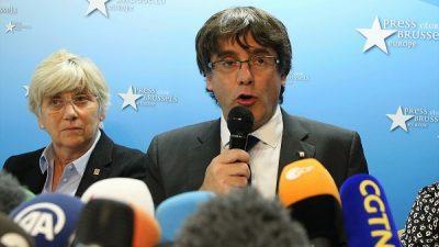 Puigdemont, Brüksel'de hakim karşısına çıkacak