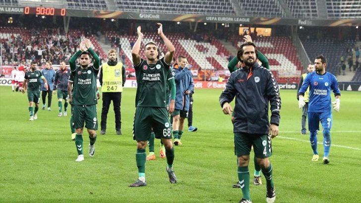Konyaspor, Salzburg'la berabere kaldı
