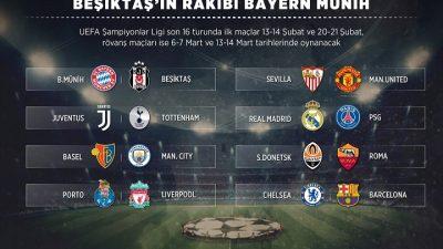 Beşiktaş'a dişli rakip