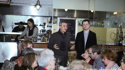 Saint-Josse'lu sosyalistler yeni yıl yemeğinde buluştular