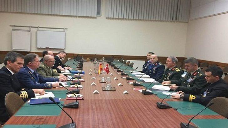 Akar, NATO Askeri Komite Genelkurmay Başkanları Toplantısı'na katıldı