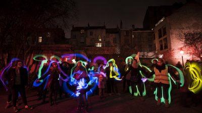 Işık festivali Schaerbeek'i aydınlatacak