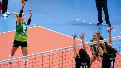 Bursa Büyükşehir Belediyespor: 3 – Charleroi Volley: 0