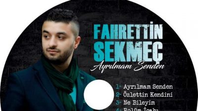 Popstar Fahrettin Sekmeç hayaline kavuştu