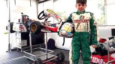 Ömer Asaf, Uluslararası Genk Pisti'nde yarışacak