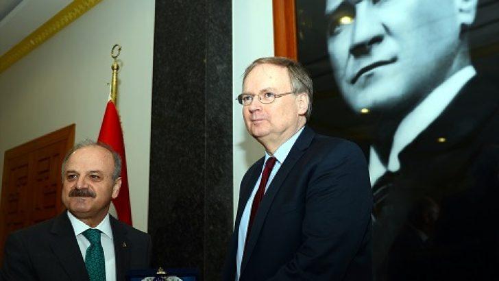 AB Türkiye Delegasyon Başkanı Berger Eskişehir'de:
