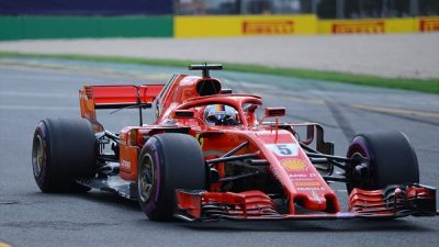 Kanada'da zafer Vettel'in