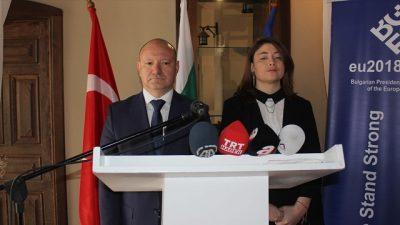 """""""Türk-Bulgar ilişkileri dünyaya örnek olacak nitelikte"""""""