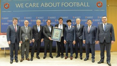 Türkiye, EURO 2024 adaylık dosyasını sundu