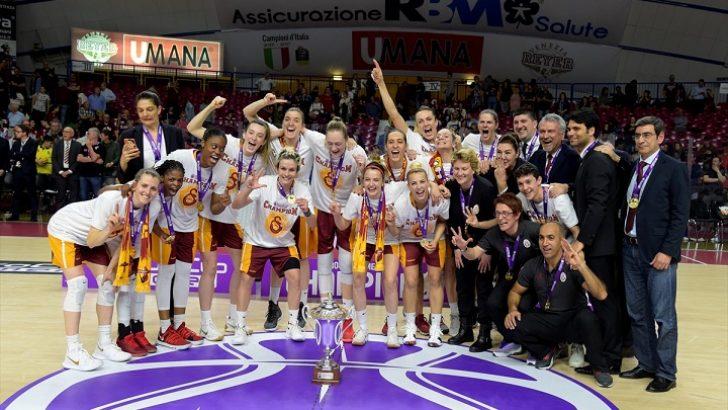 FIBA Kadınlar Avrupa Kupası'nda şampiyon Galatasaray