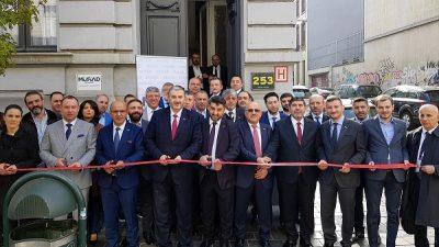 MÜSİAD Belçika şubesi açıldı