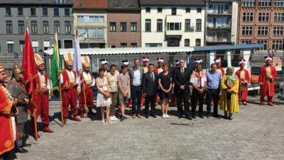 Aalst Türk Günü bin 500 kişiyi ağırladı