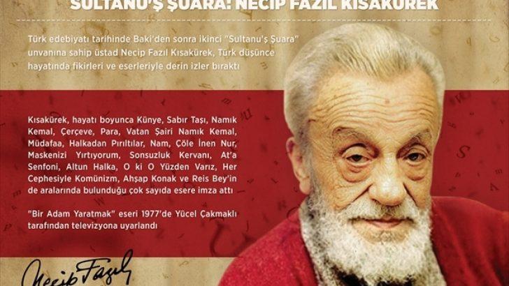 """""""Sultanu'ş Şuara"""": Necip Fazıl Kısakürek"""