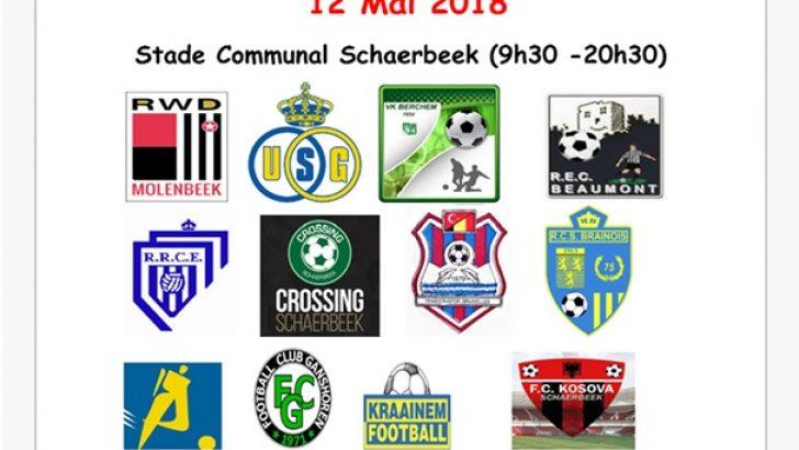 FC Schaerbeek'in büyük turnuvası 12 Mayıs'ta