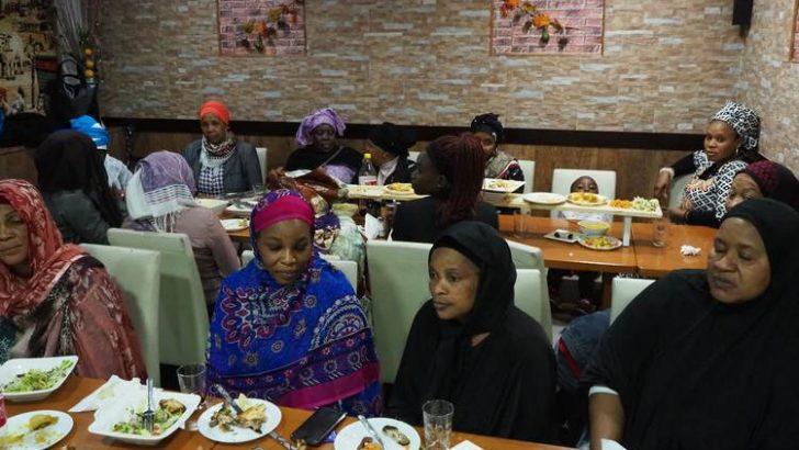 Saadet Partisi Belçika, bu Ramazan'da da mültecileri unutmadı