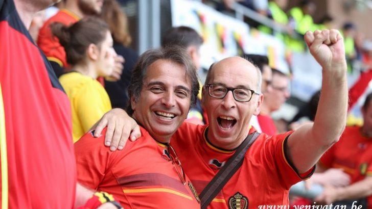 Dünya Kupası heyecanı Schaerbeek'te yaşandı