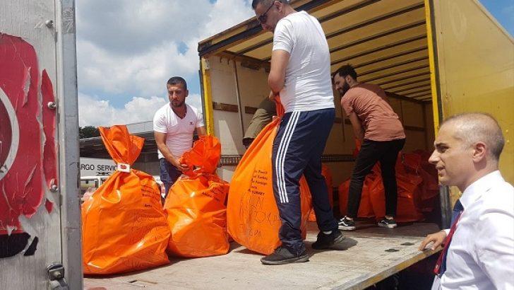 Yurt dışında 12 temsilcilikte kullanılan oylar Türkiye'ye gönderildi