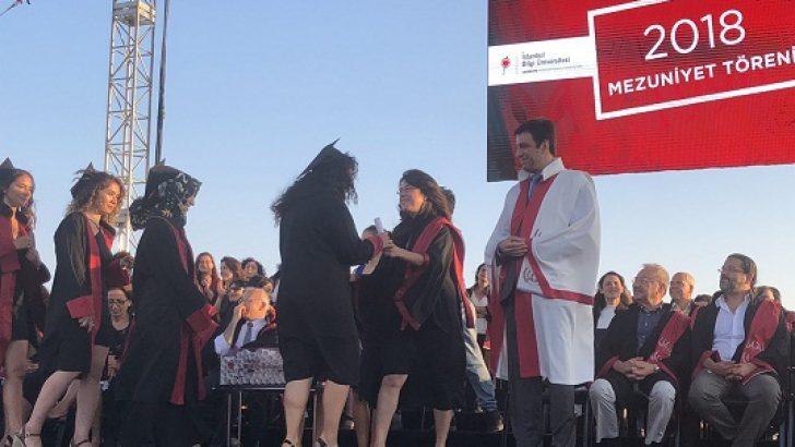 Bilgi Üniversitesi'nde coşkulu mezuniyet töreni