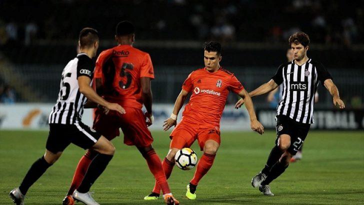 Beşiktaş'a avantajı kaptı