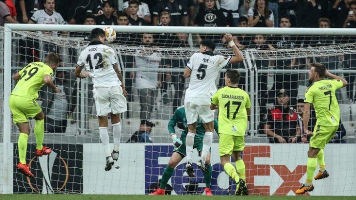 Beşiktaş ikinci yarıda açıldı