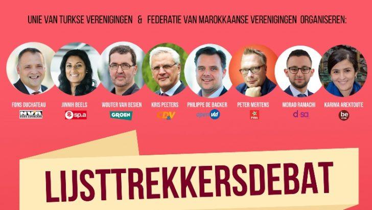 Anvers'te göçmenleri ilgilendiren seçim paneli