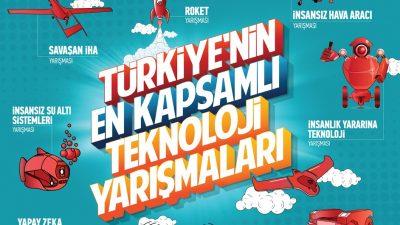 YTB'den yurt dışında yaşayan gençlere TEKNOFEST'e katılım desteği
