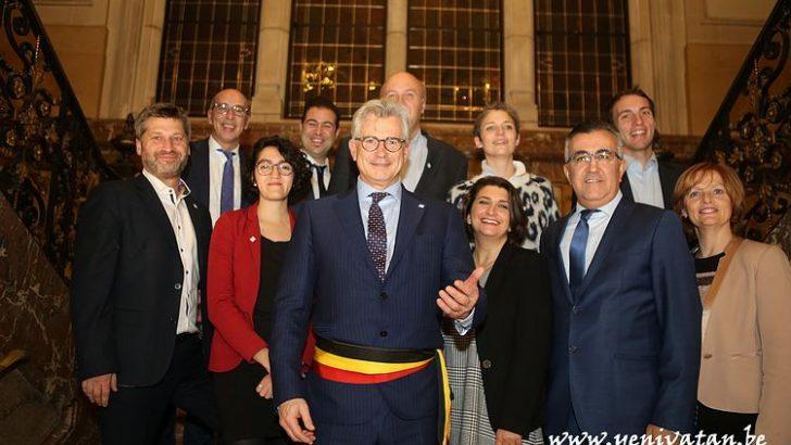 Yeni Schaerbeek Belediye Meclisi yemin etti