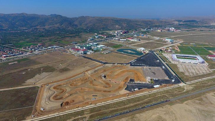 Afyon Motor Sporları Merkezi Dünya Motokros Şampiyonası'na hazır