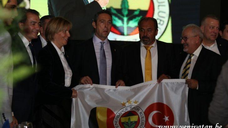 Belçika Fenerbahçeliler Derneği'nde Mahmut Korkmazer yeniden başkan