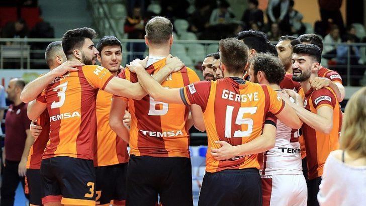Galatasaray'ın voleybolda konuğu Lindemans