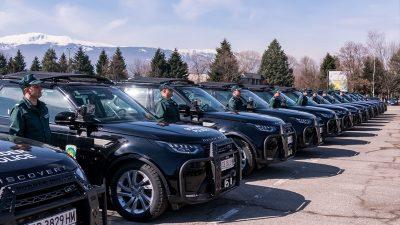AB'den Bulgaristan hudut polisine araç desteği