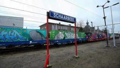 Nuh'un Treni Schaerbeek'e ulaştı