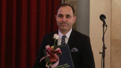 """Türkiye'nin Belgrad Büyükelçisi Tanju Bilgiç'e """"Avrupa Ödülü"""""""