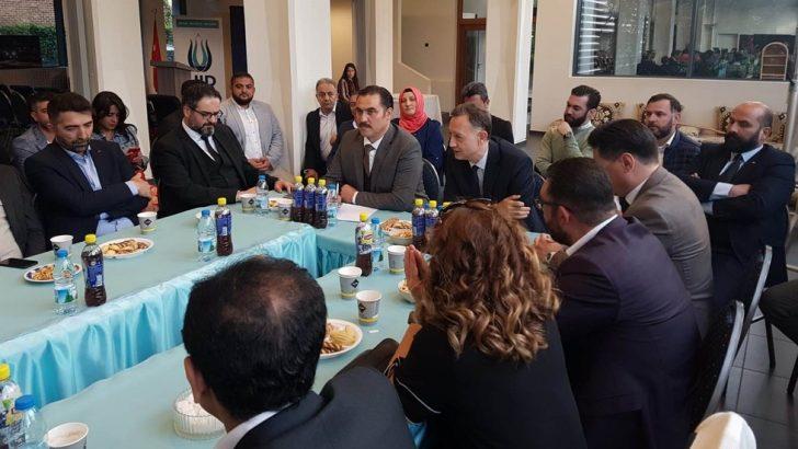 Belçika'daki Türk kökenli avukatlarla doktorlar bir araya geldiler