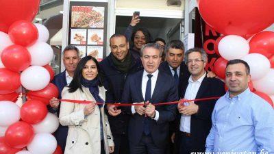 Lider Tantuni ve Kokoreç salonu Saint-Josse'a açıldı
