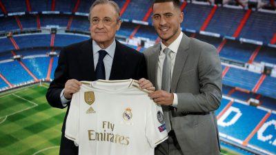 Real Madrid, Eden Hazard'ı tanıttı