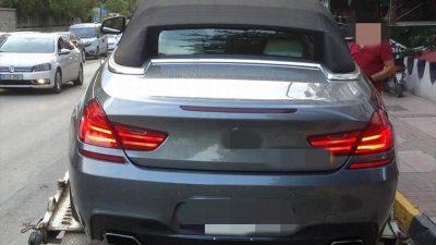 Edirne'de drift yapan sürücüye 5 bin 10 lira para cezası