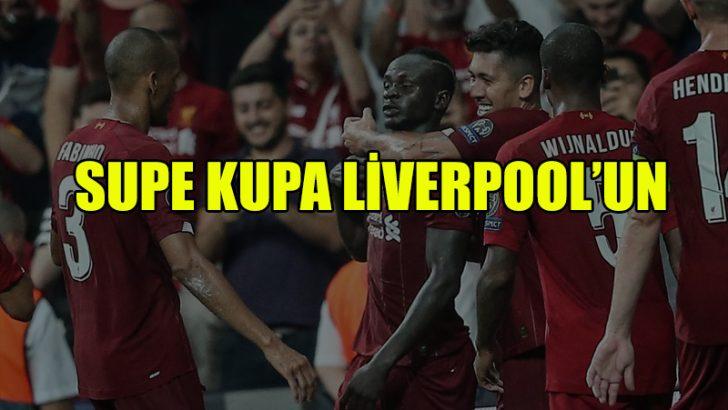 İstanbul'da kazanan Liverpool