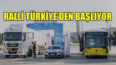 Mavi Koridor Rallisi Türkiye'den başlayacak