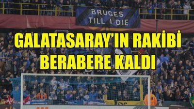 Club Brugge, berabere kaldı