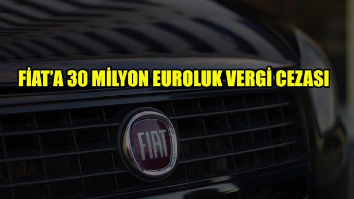 Fiat'a yönelik vergi cezası yasal bulundu