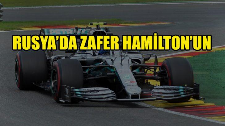 Rusya'da zafer Hamilton'ın