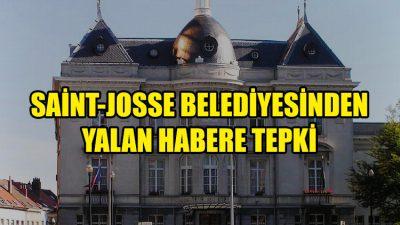 Saint-Josse Belediyesinden basında çıkan yalan habere tepki
