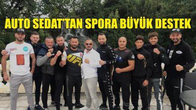 Auto Sedat'ın destek verdiği 2 sporcu şampiyon oldu