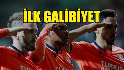 Gruplarda ilk galibiyet Medipol Başakşehir'den