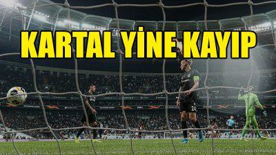 Beşiktaş, yine kayıp