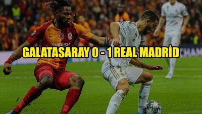 Galatasaray, Real Madrid'e yenildi