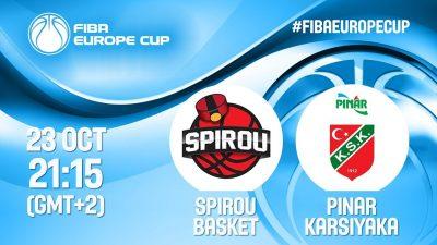 Pınar Karşıyaka grup maçlarına Belçika'da başlayacak